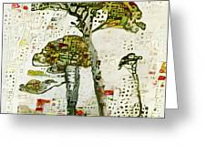 City Trees Greeting Card
