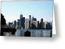 City View From The Island  Greeting Card