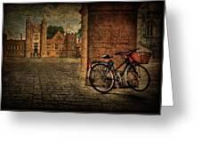 City Wheels Greeting Card