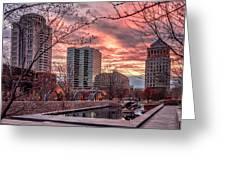 Citygarden Gateway Mall St Louis Mo Dsc01485 Greeting Card
