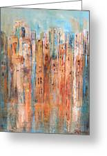 Cityscape #3 Greeting Card