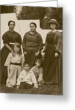 Civil War A Family Affair Greeting Card