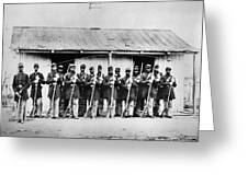Civil War: Black Troops Greeting Card