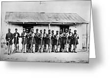 Civil War: Black Troops Greeting Card by Granger