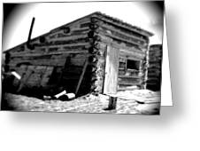 Civil War Cabin 1 Army Heritage Education Center Greeting Card