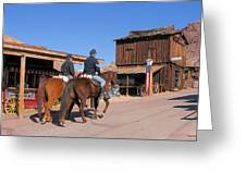 Civil War Cavalry Greeting Card