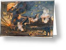 Civil War: Fort Sumter 1861 Greeting Card