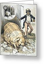 Civil War Pensions, 1888 Greeting Card