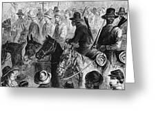 Civil War: Prisoner, 1864 Greeting Card