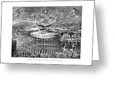 Civil War Reconstruction Greeting Card