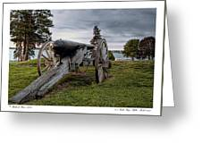 Civil War Rifle Greeting Card