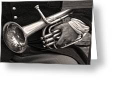 Civil War Trumpet Greeting Card