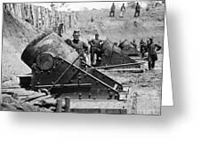 Civil War: Union Mortars Greeting Card