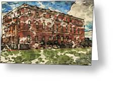 Clandon House Greeting Card