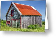 Clapboard House Greeting Card