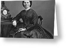 Clara Barton (1821-1912) Greeting Card