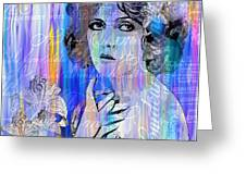 Clara Bow I'll See You In New York Greeting Card