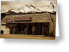 Clarks Old General Store Greeting Card