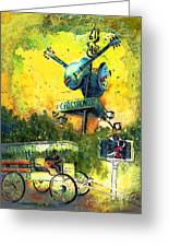 Clarksdale Authentic Madness Greeting Card