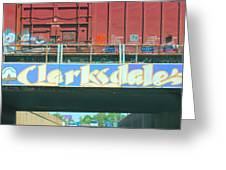 Clarksdale Overpass Greeting Card