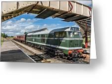 Class 31 Diesel 1 Greeting Card