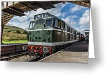 Class 31 Diesel 3 Greeting Card