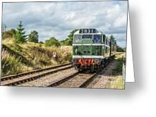 Class 31 Diesel 4 Greeting Card