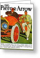 Classic American Car Pierce Arrow 6 Cyl Convertible Ad Greeting Card