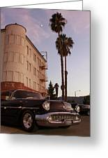 Classic At Sunset Greeting Card