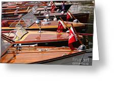 Classic Boats Greeting Card
