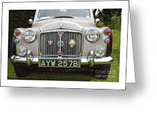 Classic Cars - Rover 110  Greeting Card
