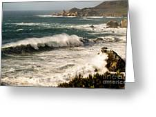 Classic California Surf Greeting Card