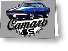 Classic Camaro Greeting Card