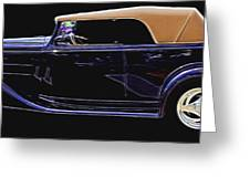Classic Car 4 Greeting Card