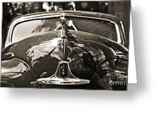 Classic Car Detail - Dodge 1948 Greeting Card
