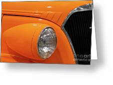 Classic Car Details Greeting Card