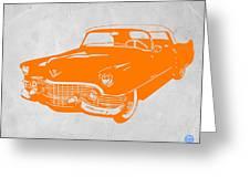 Classic Chevy Greeting Card by Naxart Studio