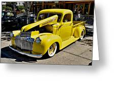 Classic Chevy Pickup Greeting Card