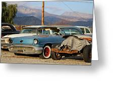 Classic Chevy True Blue Greeting Card
