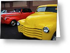 Classic Colors 5 Greeting Card
