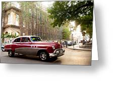 Classic Cuba Car Vii Greeting Card