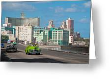 Classic Cuba Car Vi Greeting Card