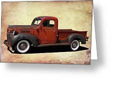 Classic Dodge Pickup Truck Greeting Card