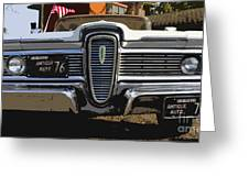 Classic Edsel Greeting Card