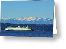 Classic Ferry Greeting Card