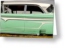 Classic Ford Edsel Greeting Card