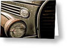 Classic Ford Truck Greeting Card