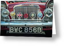 Classic Humber Greeting Card by Nick Bywater