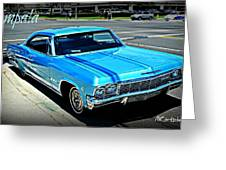 Classic Impala Greeting Card