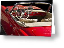 Classic Mercedes Benz 190 Sl 1960 Greeting Card